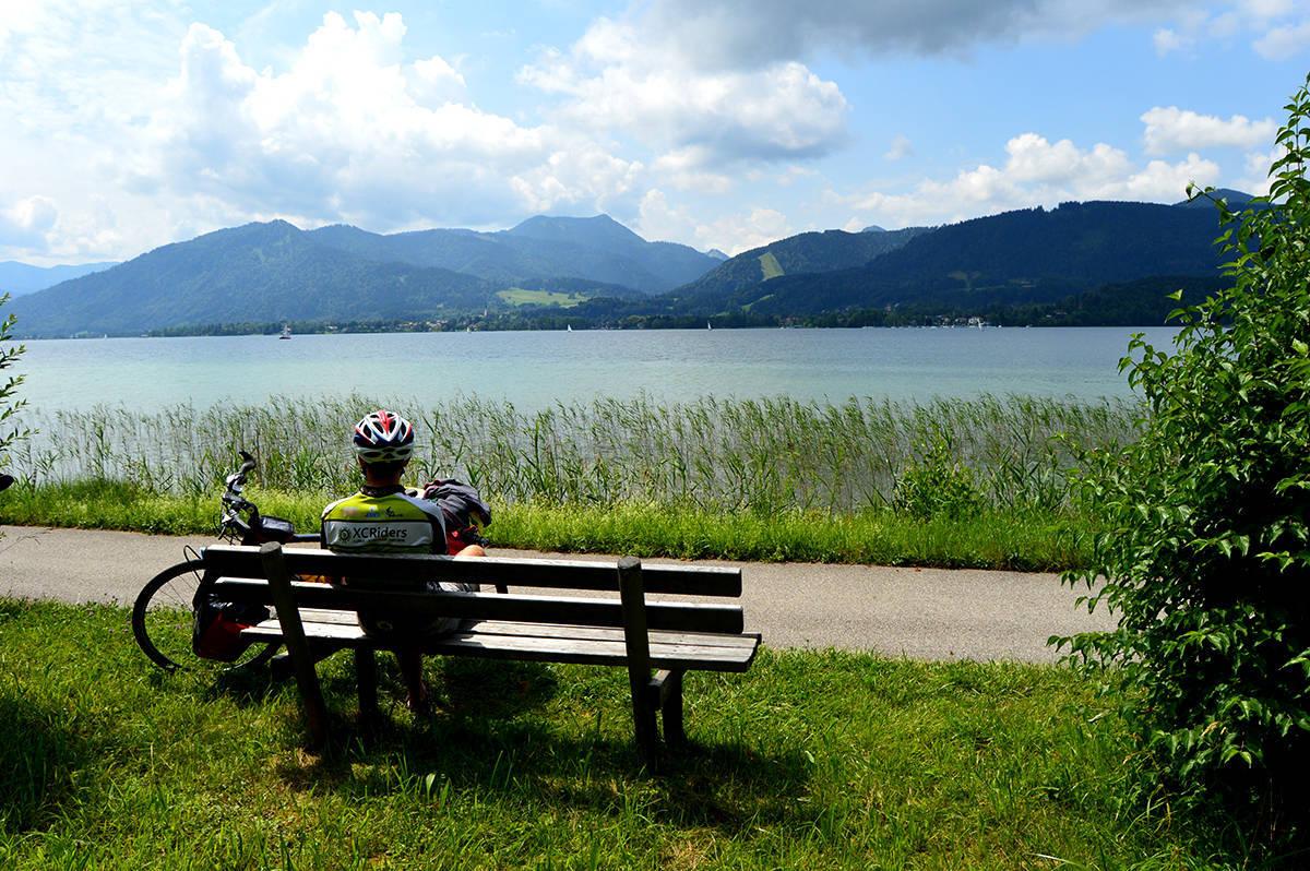 """Tegernsee, lacul cu """"baia"""""""