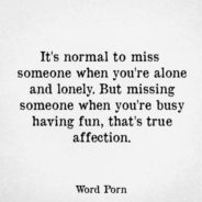 Cum știi că ții la cineva