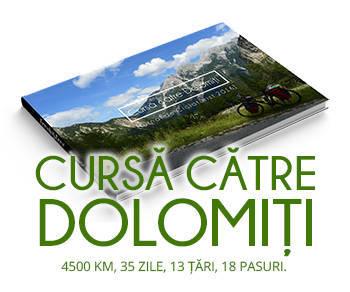 Cursa catre Dolomiti